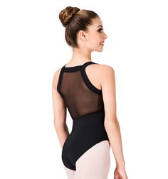 Mirella Adult Mesh Back Tank Leotard