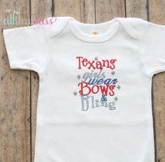 https://www.etsy.com/listing/167377448/baby-girls-houston-texans-bodysuit-or?ref=listing-0   Baby Girls Houston Texans Bodysuit or Tee  by AllThatSassBoutique, $18.00