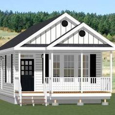 Cabin House Plans, Tiny House Cabin, Tiny House Plans, Tiny House Design, House Floor Plans, Tiny House From Shed, Small House Plans Under 1000 Sq Ft, Tiny Houses For Sale, Shed Homes