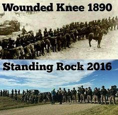 Stand with Standing Rock. There actions won't be looked as a victory this time around but another shameful part of Americas history instead of trying to repair friendship.