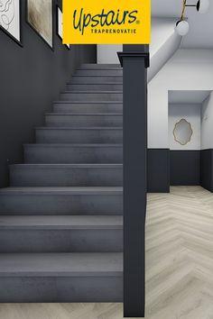 """""""Op zoek naar inspiratie voor je nieuwe trap?  ✨ Download dan nu UPStyle, onze interactieve gids vol interieurtips!"""" Vintage Ladder, Trap Decor, Stairs, Wallpaper, House, Website, Home Decor, Stairway, Decoration Home"""