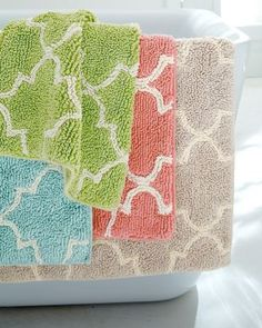 Love this rug and love that it comes in a large size!!  Château Cotton Bath Rug