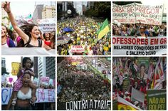 A corrida dos 100.000 metros livres atrás das manifestações em São Paulo | Brasil | EL PAÍS Brasil Móvel