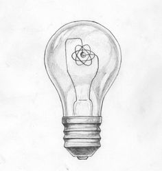 "Light Bulb Tattoo Sketch. I want the filament to say ""I AM"" because of ayn rands book Anthem"