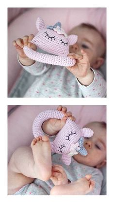 Crochet Baby Toys, Baby Knitting, Baby Mobile, Baby Box, Newborn Baby Gifts, Baby Rattle, Baby Socks, Stuffed Toys Patterns, Baby Items