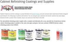 Topkote Products Expands Its Product Line To Include Water Borne Cabinet Paint For Professional Refinishers
