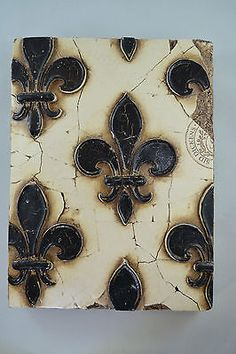 SID DICKENS FLEUR DE LIS Vancouver, Canada MEMORY BLOCK, TILE No Reserve in Collectibles,Decorative Collectibles,Wall Hangings, Mirrors | eBay