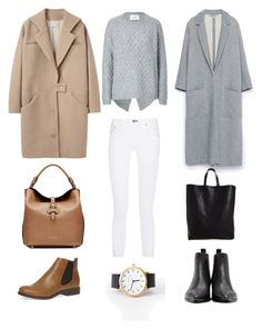"""""""One Outfit Two Ways"""" by andthisisthereasonwhy on Polyvore featuring rag & bone, DAY Birger et Mikkelsen, Cacharel, Zara, Dorothy Perkins, CÉLINE, Acne Studios and Burberry"""