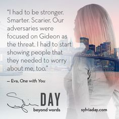What's on Eva's mind lately? Enjoy this #TeaserTuesday from #OneWithYou ;-)