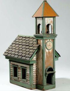 Folksy birdhouse
