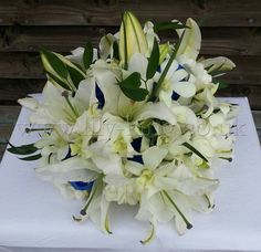 Lilies Bouquet, by Lily King Weddings