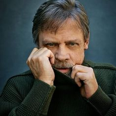 "Jeff Lipsky photographs ""Star Wars"" icon Mark Hamill for the cover of American Way magazine Mark Hamill Luke Skywalker, Star Wars Icons, Star Wars Cast, War Film, Streaming Hd, Star War 3, Carrie Fisher, Portraits, American Actors"