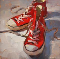 Carol Marine's Painting a Day: Chuck Mate - #2000
