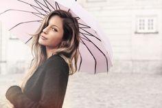 Beautiful pagoda umbrella by Lisbeth Dahl Copenhagen Spring/Summer 13. #LisbethDahlCph #Beautiful #Umbrella