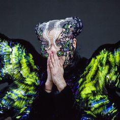 #aboutlastnight photo by @santiagraphy dress by @nikolinelivandersen headpiece by @j.t.merry