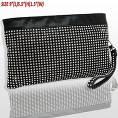 Amazon.com: HOT!!! DESIGNER BLING Rhinestone & Crystal Studded DOUBLE SIDED Clutch/Evening Bag w/wrist strap by Jersey Bling: Shoes