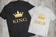 King Queen Couples Shirts King and Queen Couples by EpicTees4You