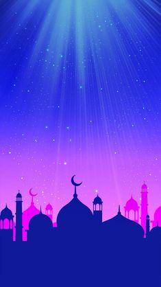 Beautiful Ramadan Wallpaper for Your iPhone - Holiday Everyday Hp Wallpaper Hd, Islamic Wallpaper Iphone, Minimal Wallpaper, Best Iphone Wallpapers, Scenery Wallpaper, Mobile Wallpaper, Cute Wallpapers, Video Simpson, Wallpaper Ramadhan