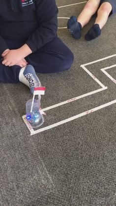 Sphero Olympics with the grade 5/6's. Lots of teamwork and problem solving! #coding #spherogames