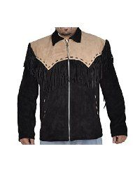 SRHides Mens Fashion Real Cow Leather Jacket