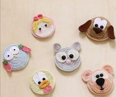 – Page 379639443589231437 – SkillOfKing. Crochet Applique Patterns Free, Crochet Animal Patterns, Baby Knitting Patterns, Crochet Motif, Crochet Designs, Crochet Flowers, Chat Crochet, Crochet Sheep, Crochet Amigurumi