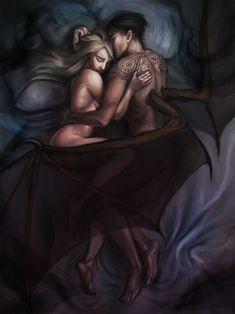 Morrigan and Azriel
