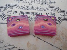 Polymer Clay Beads by TLS Clay Design by TLSClayDesign on Etsy, $2.39
