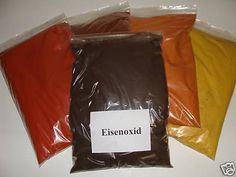 Eisenoxid schwarz je Kg Farbpigmente für Beton + Wand, Fe3O4
