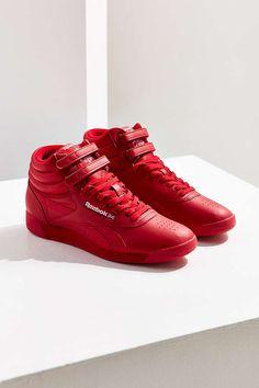Slide View: 1: Reebok Freestyle Hi OG Lux Sneaker