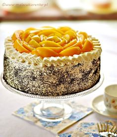 Kliknij, by zamknąć Polish Desserts, Polish Recipes, Poke Cakes, Lava Cakes, Sweet Recipes, Cake Recipes, Seed Cake, Custard Cake, Gingerbread Cake