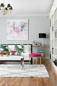 Gestalten Sie Ihr kleines Wohnzimmer nach den eigenen Vorlieben!