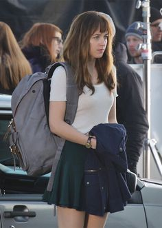 Your first look at Anastasia Steele