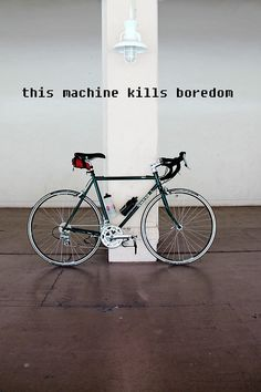 Boredom killing machine #bicycle #cycling