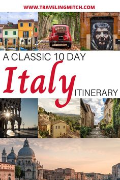 Italy. What a place. There is so much to see in Italy, but I wanted to narrow it down to an itinerary ideal for people visiting this beautiful country for the first time. So, here is a 10 day itinerary covering Rome, Venice, Florence, Siena, and more! #traveltip #italy #traveladvice