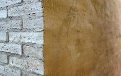 Matteo Brioni's Adobe mud wall. Biennale Architecture 2014, Venice.