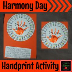 Harmony Day Activity - Use this printable activity with your Kindergarten, 1st, 2nd, 3rd, 4th, 5th, or 6th grade classroom and homeschool students. It's great for Harmony Day in Australia, or for ANY classroom that wants to promote kindness, inclusion, and anti-bullying. Click through to grab yours now! Great for character education too. {K, first, second, third, fourth, fifth, sixth graders}