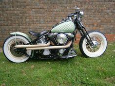 harley davidson bobber custom