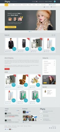 Shopping OpenCart Template is dedicated for apparel, kids, electronics, fashion designer clothes and mega stores. Great colors combination of template. All sub pages are customized. It is very nice with its clean and professional look.