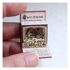 Open House Miniatures - Theater Bildersbuch, single scene, Red Riding Hood