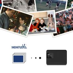 Memorable Image Scanning Box to 1TB External Hard Drive WD USB 3.0 (1000 Photos) - Photos Slides Negatives. Once upon a time beautiful memories were captured on paper photos, 35mm slides, and negatives. For many years they collected dust in old shoeboxes, dark basements, and far away attics. One day, a hero (you) discovered these family treasures and decided to rescue them. At your home, a box arrived with a pre-printed FedEx label to send to Memorable for resurrection. In 7-10 days all...