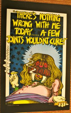 The POT WALRUS Poster 1972 Vintage by JamesPrestonVintage on Etsy, $120.00