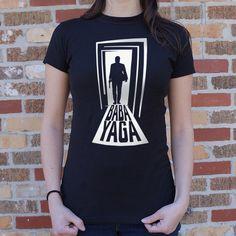 Ladies Baba Yaga T-Shirt  #wearablefun #funnytshirt #GraphicT #tshirthumor #searchandshipgifts