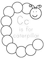 Hi everyone, I'm excited to post my next letter, Letter C, we will be having fun with Caterpillars! We had a lot of fun with this one, hopefully you all will too 🙂 Letter C Memory Verse: Children obey your parents in the Lord; for this is right. Ephesians 6:1 Read Chicka Chicka Boom Boom and put up the letter…