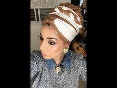 קשירת מטפחות - קלילופ צמה, ליפופים ועוד...  How To Tie A scarf- cliloop braid, Wraps & more - YouTube