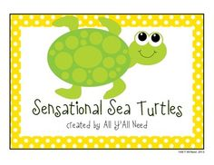 Sensational Sea Turtles
