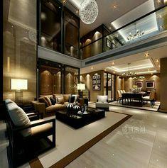Luxury modern house, modern house interior design, contemporary home design Modern Interior, Home Interior Design, Luxury Interior, Modern Luxury, Interior Ideas, Luxury Decor, Ultra Modern Homes, Elegant Homes, Interior Paint