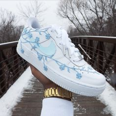 Nike Shoes OFF!> Behind The Scenes By kickzincolor Custom Painted Shoes, Nike Custom Shoes, Nike Shoes Air Force, Cute Sneakers, Winter Sneakers, Sneakers Nike, Casual Sneakers, Casual Shoes, Aesthetic Shoes