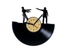 Zegar winylowy - Walking Dead - Rick