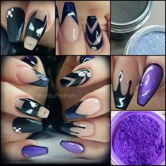 #throwback   Always be yourself... Unless you can be Batman... then always be Batman  Tag a #Batman fan  #Thursday #tbt #batman #batmannails #getbuffednails #nails #nailart #notd #instanails #ignails #nailprodigy #pigment #purplepigment from @glitter_heaven_australia  #gellyfit #gelpolish from @gellyfitaustralia  #bling  #swarovski #nailtech #melbournenailart #acrylicnails #handpainted #coffinnails #longnails