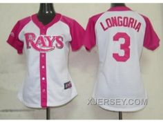 http://www.xjersey.com/women-mlb-tampa-bay-rays-3-longoria-white-pink2012-hot.html WOMEN MLB TAMPA BAY RAYS #3 LONGORIA WHITE PINK[2012] HOT Only 32.17€ , Free Shipping!